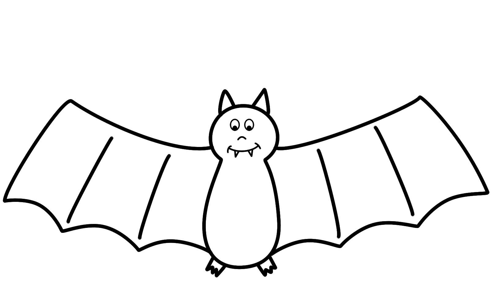 Bat dot to dot  Free Printable Coloring Pages