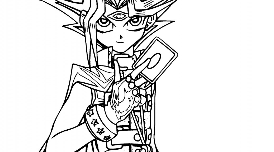 Yu Gi Oh Coloring Pages Printable Yugioh Me
