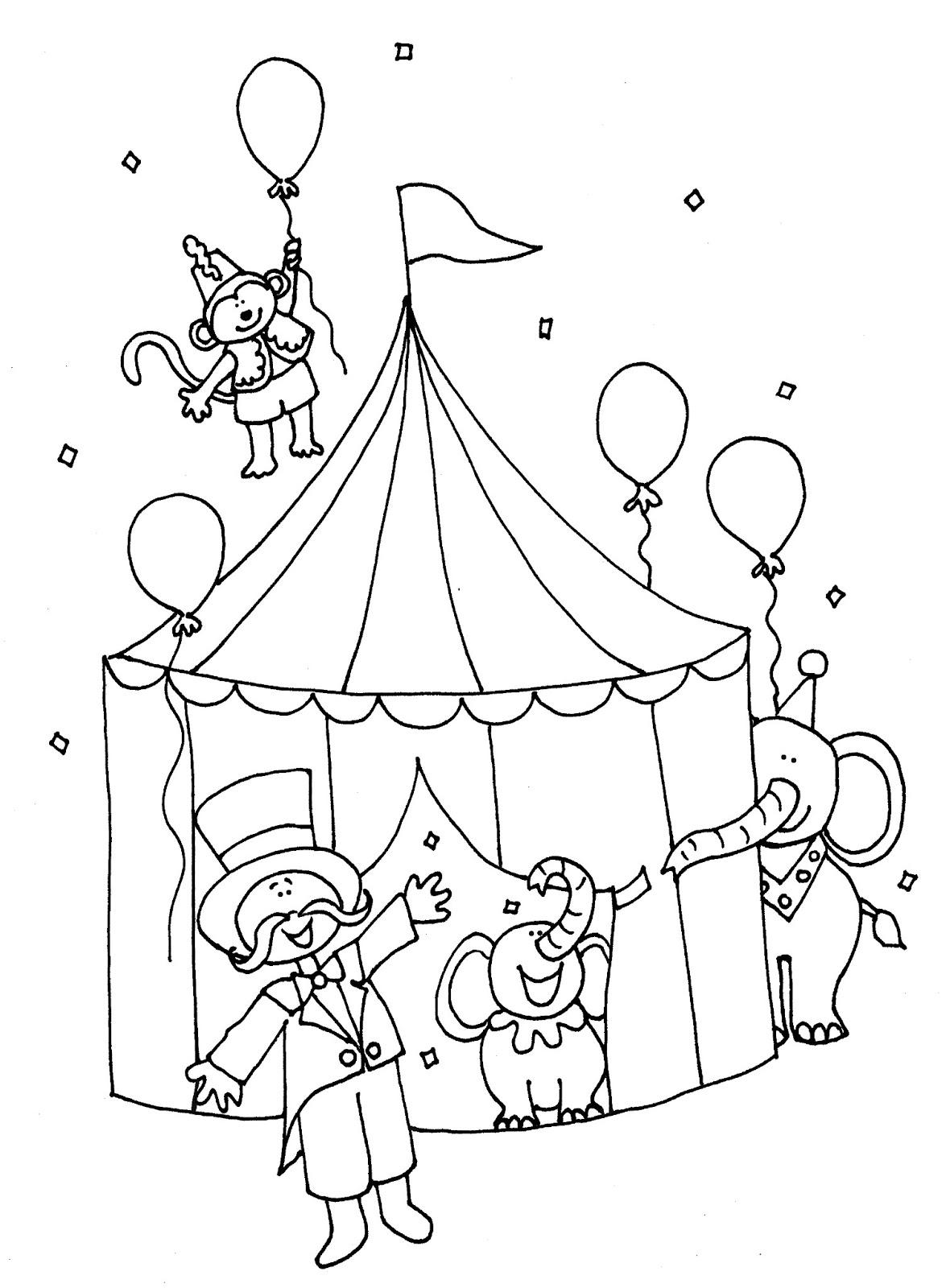 нарисуй цирк картинки хотите