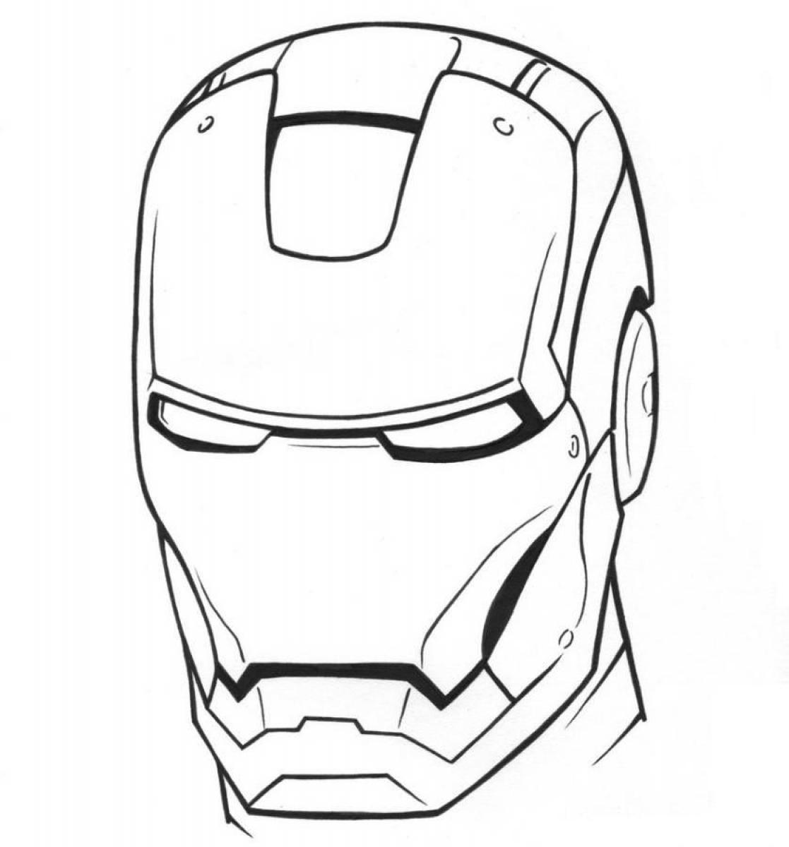 man face coloring pages - photo#18