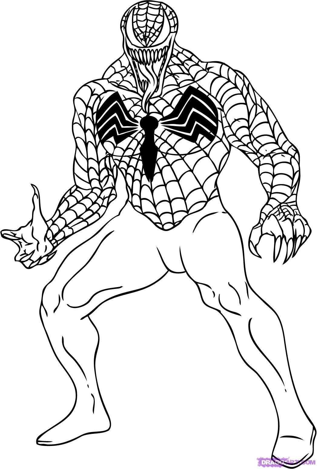 20 Free Printable Marvel Coloring Pages