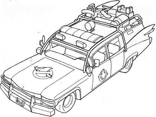 Ghostbuster car coloring pages ~ Stay Puft Ghostbusters Coloring Pages Printable Coloring Pages